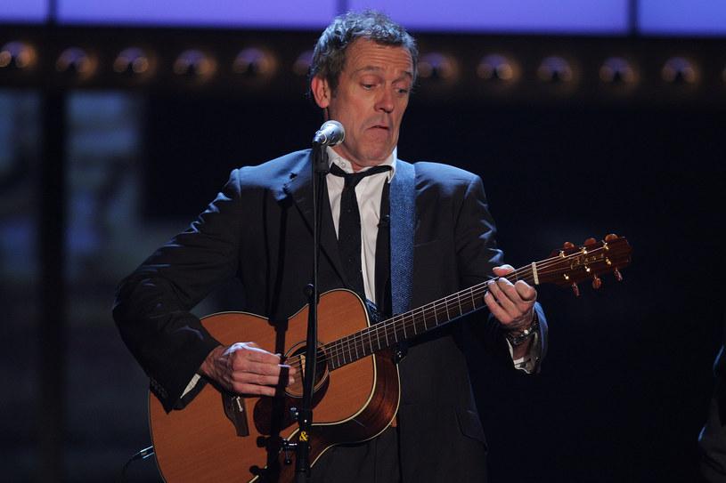 Hugh Laurie skupił się głównie na muzyce. /Thomas Niedermueller /Getty Images