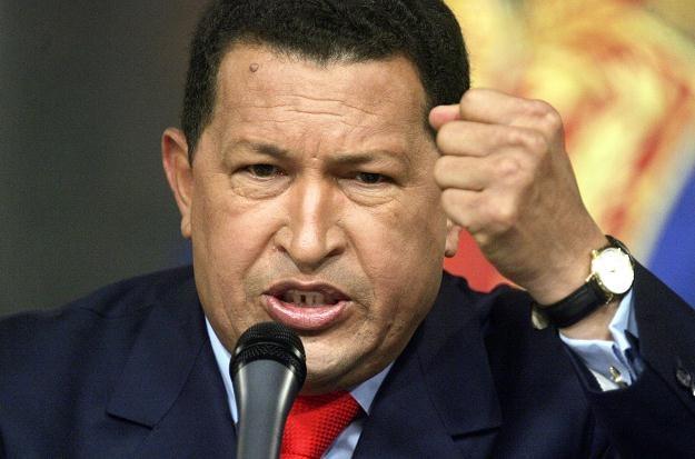 Hugo Chavez, fot. Mario Tama /Getty Images/Flash Press Media