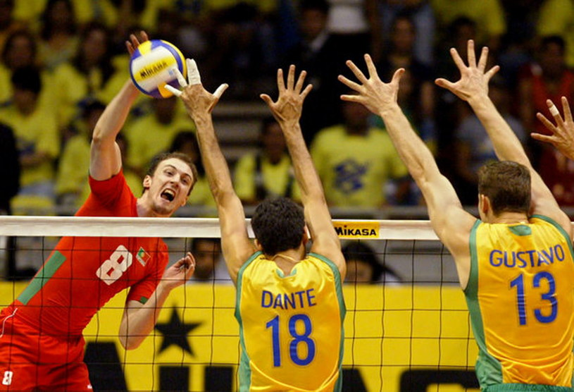 Hugo Gaspar w meczu z Brazylią /AFP