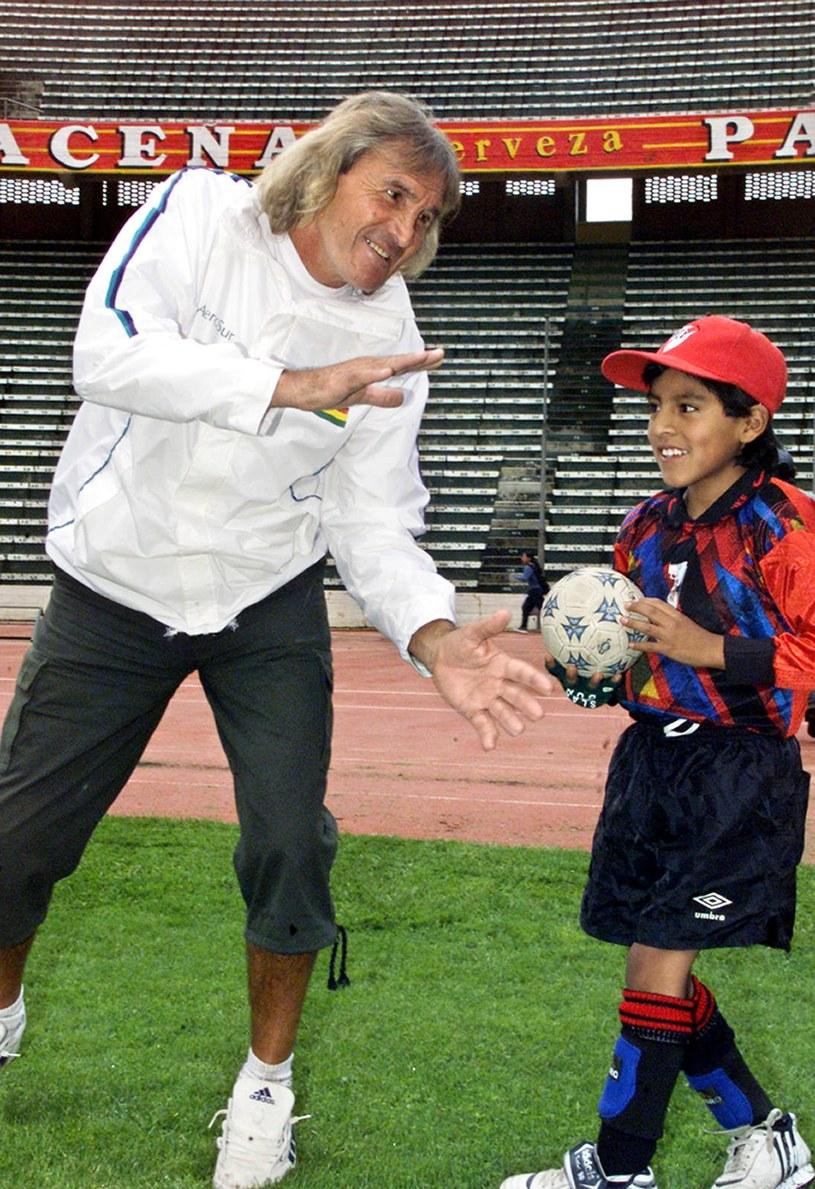 Hugo Orlando Gatti (z lewej) /Aizar RALDES /AFP