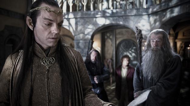 """Hugo Weaving, Richard Armitage, Martin Freeman i Ian McKellen w filmie """"Hobbit: Niezwykła podróż"""" /materiały dystrybutora"""