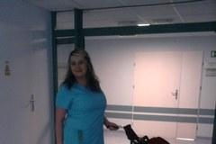 Hulajnogą po szpitalu, czyli jak lekarz mknie do pacjenta