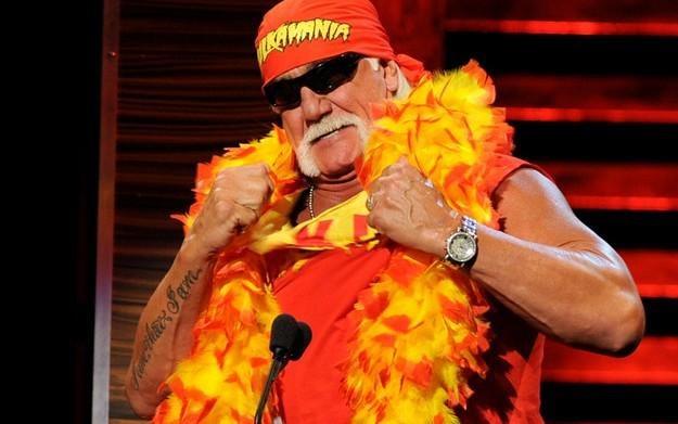 Hulk Hogan - zdjęcie /AFP