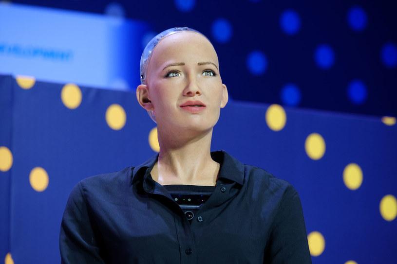 Humanoidalny robot Sophia /123RF/PICSEL