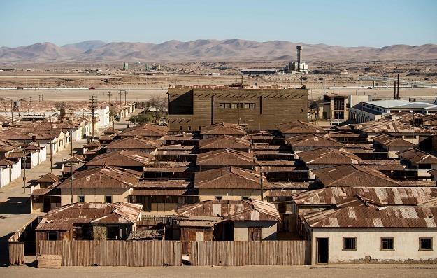 Humberstone - opuszczone miasto w północnym Chile /fot. Martin BERNETTI /AFP
