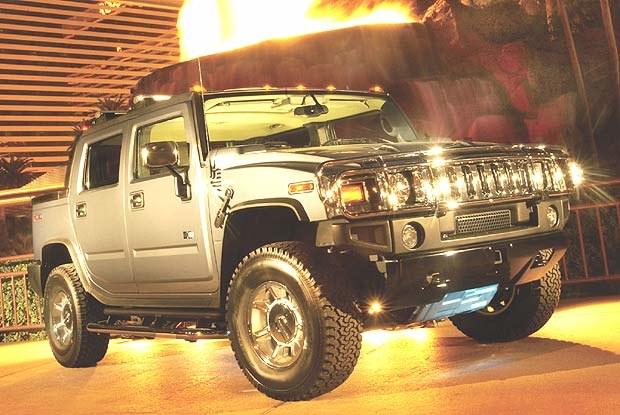 Hummer H2 SUT (kliknij) /INTERIA.PL