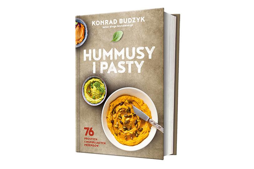 """Hummusy i pasty"" Konrada Budzyka /materiały prasowe"