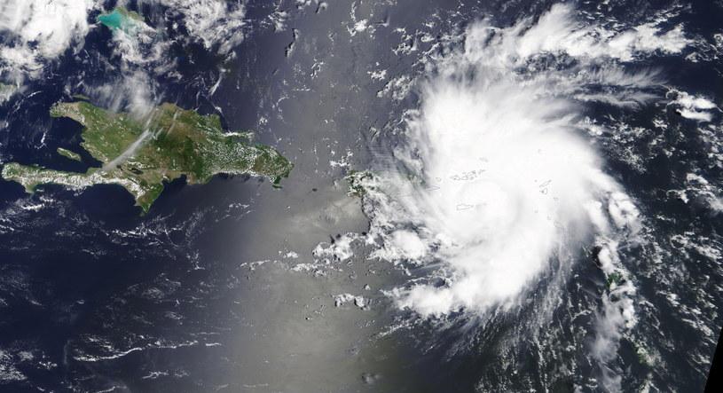 Huragan Dorian przybiera na sile /NASA WORLDVIEW /PAP/EPA