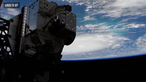 Huragan Dorian widziany z Międzynarodowej Stacji Kosmicznej