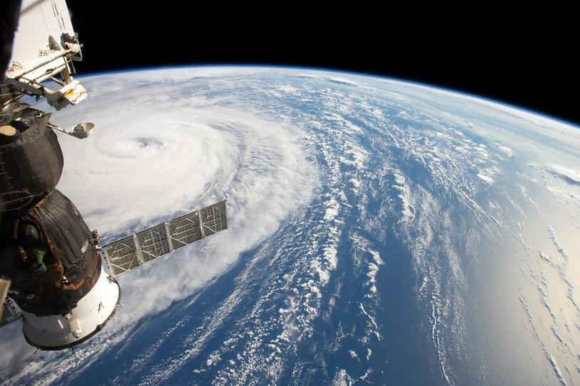 Huragan Harvey widziany z ISS /123RF/PICSEL