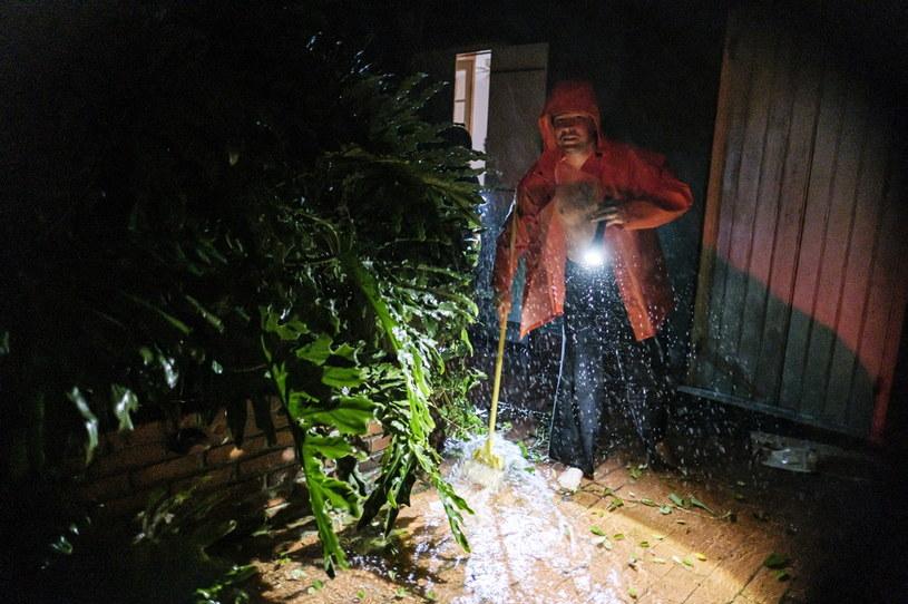 Huragan Ida nie tylko powoduje spore straty, ale i zagraża życiu mieszkańców stanu Luizjana /PAP/EPA/DAN ANDERSON /PAP