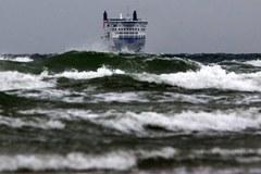 Huragan Ksawery. Wysokie fale na Morzu Północnym