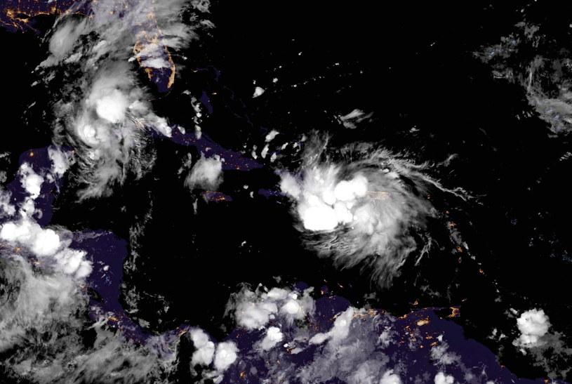 Huragan Laura zmierza w kierunku USA /NOAA    /PAP/EPA