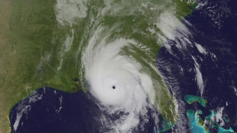 Huragan Michael /NOAA    /PAP/EPA