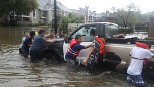Huragan pustoszył Teksas. Blisko pół miliona osób potrzebuje pomocy