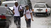 Huragan Sandy przybiera na sile nad Kubą