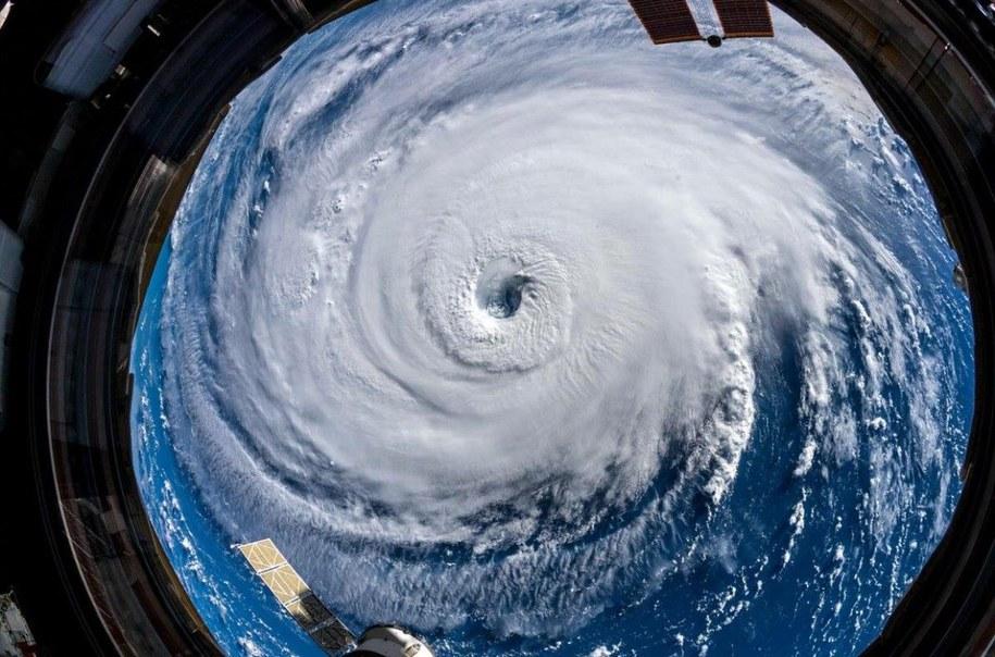 Huragan widziany z kosmosu /NASA