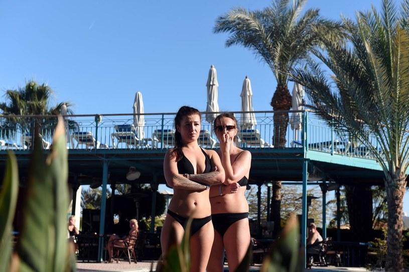 Hurghada po ataku na turystów, styczeń 2016 /AFP