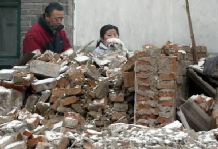 Hutongi w Pekinie wyburzane już są od służszego czasu, w ich miejscu powstaną nowoczesne dzielnice /AFP