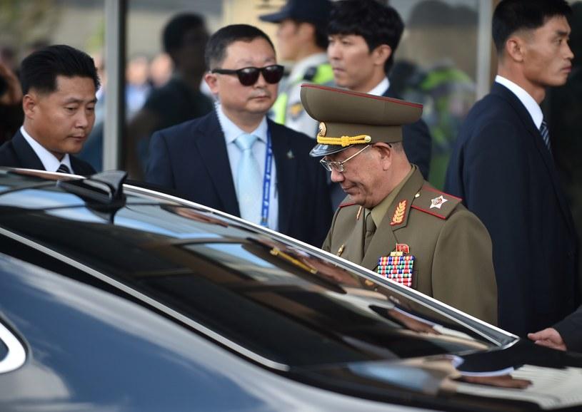 Hwang Pyong So – północnokoreański polityk i wicemarszałek Koreańskiej Armii Ludowej /AFP