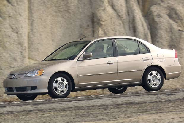 Hybrydowa Honda Civic sedan (kliknij) /INTERIA.PL