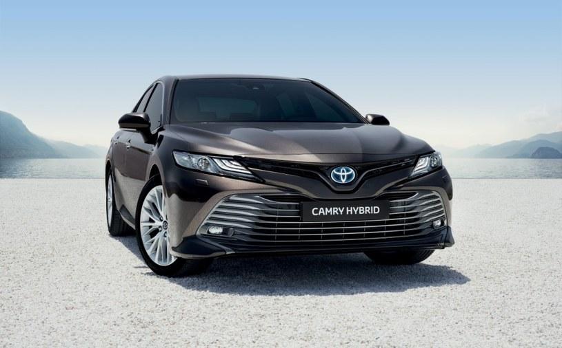 Hybrydowa Toyota Camry /materiały prasowe