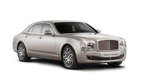 Hybrydowy Bentley w Pekinie
