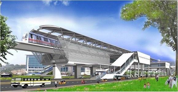 Hyderabad Metro Fot. Hmrblog.in /materiały prasowe