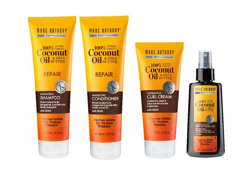 Hydrating Coconut Oil & Shea Butter Marc Anthony /materiały prasowe