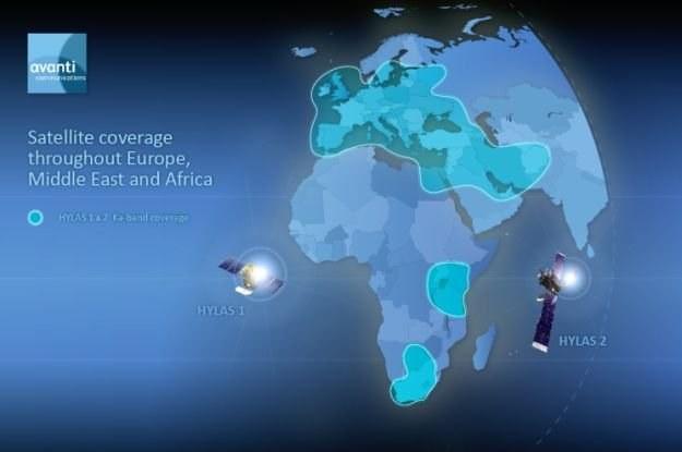 HYLAS1 ma pomóc w dostarczaniu internetu w Europie /materiały prasowe