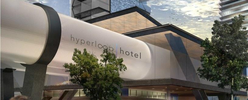 Hyperloop Hotel - oto przyszłość transportu? /materiały prasowe
