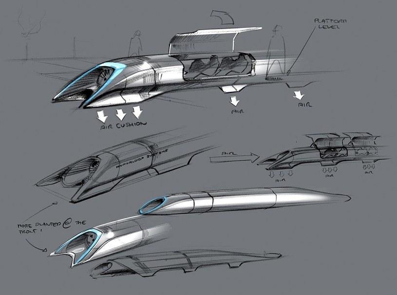 Hyperloop ma być środkiem transportu publicznego /East News