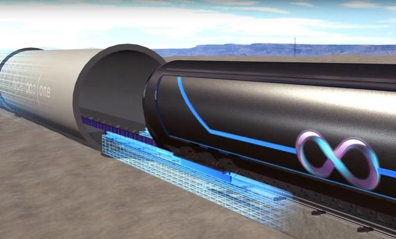 Hyperloop ma powstać już w kilku miejscach na świecie /YouTube /Internet