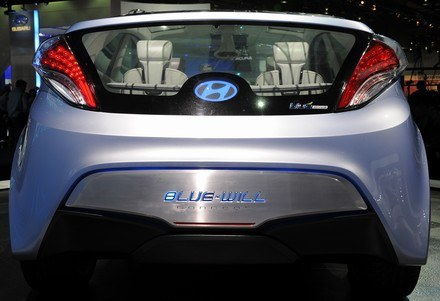 Hyundai blue-will /AFP