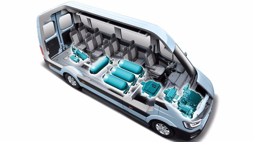 Hyundai H350 Fuel Cell /