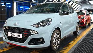 Hyundai i10 N Line wszedł do produkcji