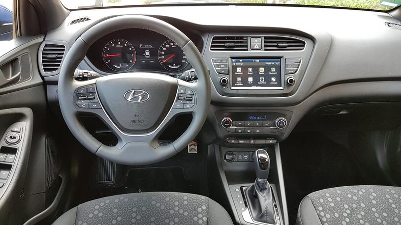 Hyundai i20 po liftingu /INTERIA.PL