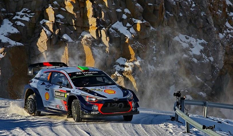 Hyundai i20 WRC na Rajdzie Szwecji /