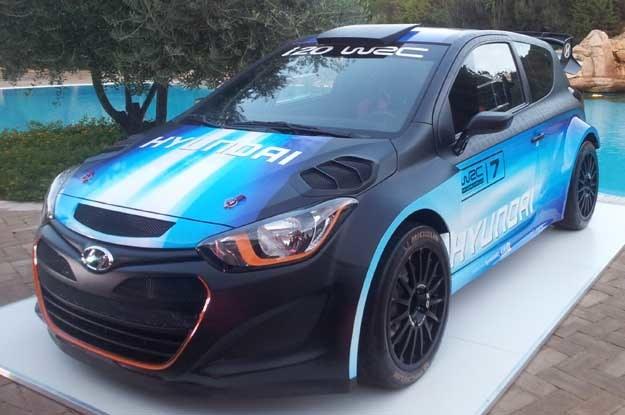 Hyundai i20 WRC /INTERIA.PL