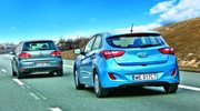 Hyundai i30 1.4 vs VW Golf 1.2 TSI - porównanie