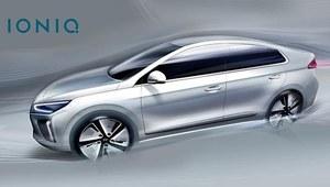 Hyundai IONIQ na nowych grafikach