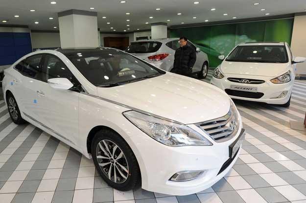 Hyundai jest w Europie coraz mocniejszy /AFP