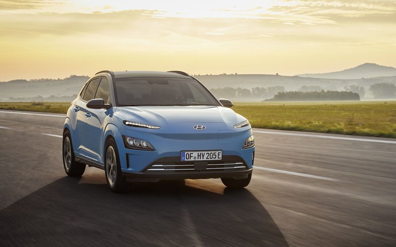 Hyundai Kona Electric po liftingu /
