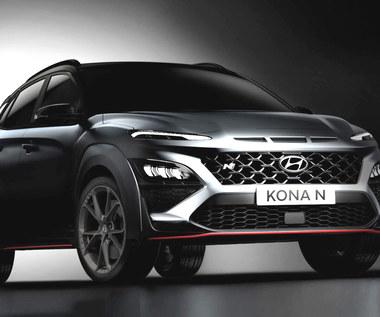 Hyundai Kona N. Pierwsze zdjęcia