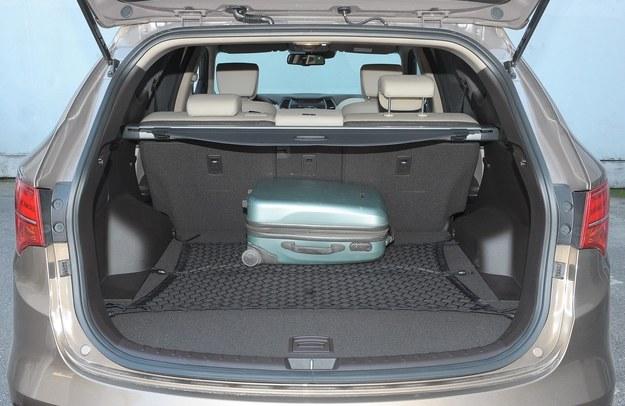 hyundai santa fe bagażnik /Motor