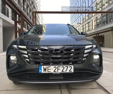 Hyundai Tucson Hybrid - parametrycznie dynamiczny