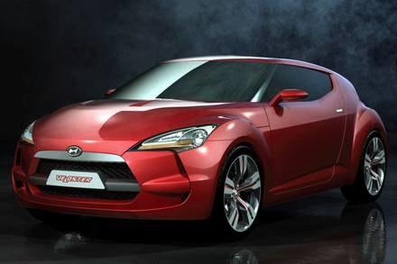 Hyundai veloster / Kliknij /INTERIA.PL