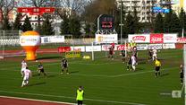 I liga. Apklan Resovia - ŁKS Łódź 1-0 - bramka Jakuba Wróbla (POLSAT SPORT). WIDEO