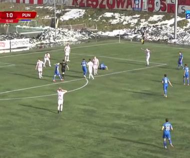 I Liga. Apklan Resovia - Puszcza Niepołomice 2-1. Skrót meczu (POLSAT SPORT). Wideo