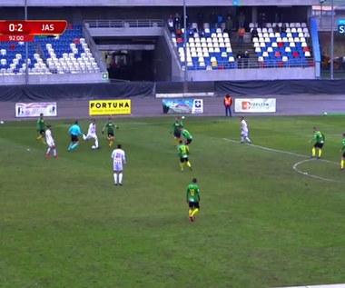 I Liga. Apklan Resovia Rzeszów - GKS Jastrzębie 1-2. Wszystkie bramki (POLSAT SPORT). wideo